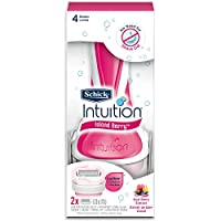 Schick Intuition Island Berry Razor for Women with 2 Razor Blade Refills