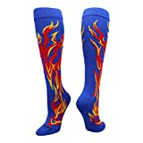 MadSportsStuff 火焰袜子中筒袜(多种颜色)