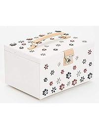 WOLF 467053 Blossom 大号珠宝盒,白色