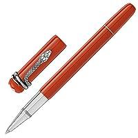 MontBlanc 万宝龙 传承系列红与黑蛇笔红色宝珠笔签字笔 114726