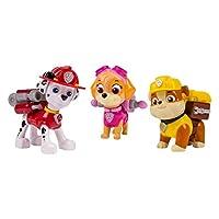 Nickelodeon,《狗狗巡逻队》- 行动小组狗狗 3pk 玩具组 - Marshal、Skye、Rubble