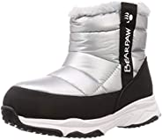 JUNIPER 雪地靴 兒童 青少年 冬季靴 防水 拉鏈 長毛絨 防寒 鞋 鞋子