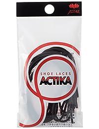 [ACTIKA] 不易磨损的鞋带 黑色 80cm