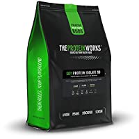 THE PROTEIN WORKS Soy Protein 90 Isolate Powder - 2 kg, Unflavoured