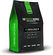 The Protein Works Soy Protein 90 Isolate Powder, Choc Peanut Cookie, 2kg