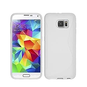 三星 Galaxy S8 软硅胶手机壳SL-S8-BL Blanc