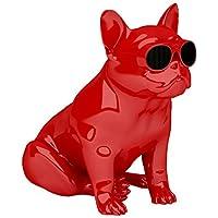 JARRE AeroBullXS1 斗牛犬无线蓝牙音响 低音炮 手机便携音响 音箱 亮红色
