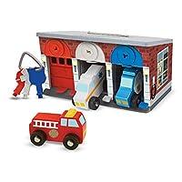 Melissa&Doug 钥匙和汽车救援车库