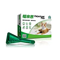 FRONTLINE福来恩猫用体外除虱除虫滴剂0.5ml*3(进)(新老包装随机发货)