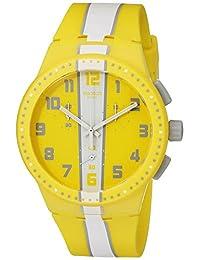 Swatch 斯沃琪 新果冻计时系列石英中性手表 阿莫尔戈斯 SUSJ100