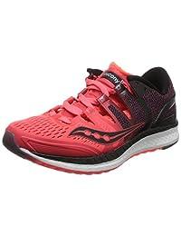 Saucony 圣康尼 TEC 女 跑步鞋 LIBERTY ISO S1041027H18A 红/黑 38.5 (US 7.5)
