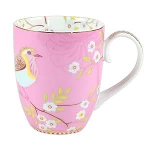 Pip Studio Early Bird Pink Porcelain 12 Oz. Coffee Mug