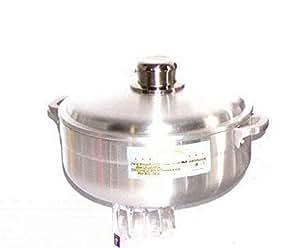 铝制 caldero 汤锅 银色 11.33 Qt (11LT)
