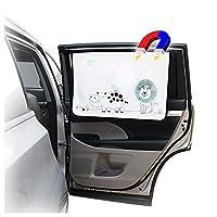 "ggomaART 汽车侧窗遮阳帘通用磁性窗帘适用于婴儿和儿童 27"" X 18.5"" * EW002"