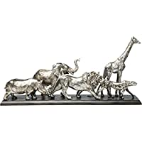 Kare 66041 装饰物,动物旅行,71 厘米,银色,均码