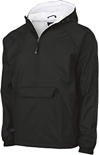 Charles River Apparel Men's Classic Solid Windbreaker Pullover