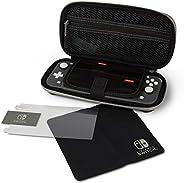 PowerA 任天堂 Switch Lite 保护壳套件 - 黑色 - 任天堂开关