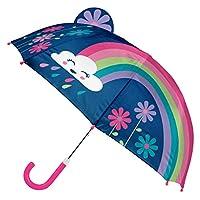 Stephen Joseph 兒童學步兒童彈出式雨傘,彩虹色,均碼