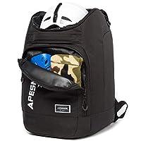 APESNOIC 滑雪靴袋防水滑雪袋适用于旅行商店装备,包括头盔、护目镜、手套和男女青少年的配饰。