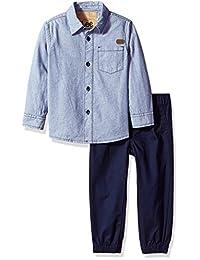 LEE 大男孩 2 件套长袖针织裤子套装