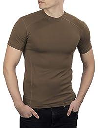281Z 男式*吸湿排汗 T 恤 - 战术训练*专业 - Polartec Delta - Cool Touch (Coyote Brown)