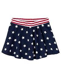 The Children's Place 婴儿女童 Americana 褶裙