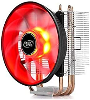 DEEPCOOL CPU Cooler GAMMAXX 300 Red LED 3 Heat Pipes