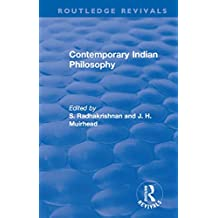 Revival: Contemporary Indian Philosophy (1936) (Routledge Revivals) (English Edition)
