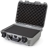 Nanuk 925 Case with Cubed Foam (Silver)