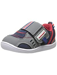 Tsukihoshi Baby 81 Fashion Sneaker (Toddler), Gray/Navy, 4.5 M US Toddler