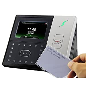 ZKTECO 中控科技 iFace701面部+刷卡网络考勤机(黑色)