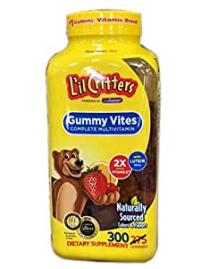 L'IL CRITTERS 丽贵 小熊糖软糖 300粒(美国进口) (跨境自营,包邮包税)