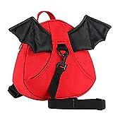 fvstar 婴儿*背包幼儿防盗胸背带袋带皮带儿童步行学习胸背带–*的 AS 圣诞节礼物婴儿 红色 9.4 x 8.7 x 2.8 inch