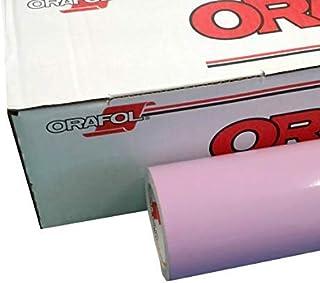 Oracal 651 乙烯基薰衣草 60.96 厘米 x 3.02 厘米光面卷适用于工艺切割机和乙烯基标志切割器