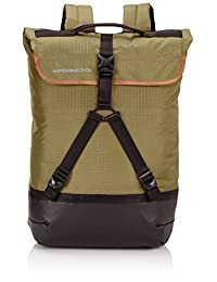 Mandarina Duck 男式  REBEL系列 双肩背包 FRT02-10K 橄榄色 均码(亚马逊进口直采,意大利品牌)