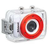 Polaroid XS7 HD 720p 5MP 防水运动运动相机,液晶触摸屏,含安装套件