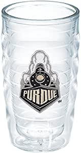 Tervis Purdue University Train Emblem Individual Tumbler, 10 oz, Clear