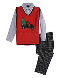 TFW Dresswear 男童毛衣背心套装