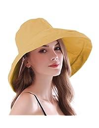 iHomey 女式宽边遮阳帽可折叠 UPF 50+ *渔夫帽