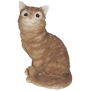 MICHAEL CARR crouching 猫雕像 棕色