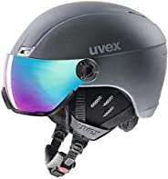 UVEX 優維斯 Visor 護目鏡系列 中性 滑雪頭盔 uvex hlmt 400 visor style