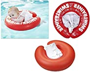 FREDS SWIM ACADEMY 游泳訓練器游泳輔助 Classic rot (6-18kg) 紅色
