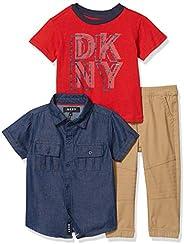 DKNY 男孩裤子套装