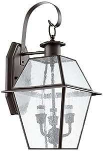 Quorum International 729-3-136 Duvall 3 灯植入灯笼,青铜色