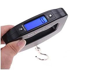 Mocase 50KG 便携式电子数字规模悬挂行李钓鱼钩重量平衡钢琴 110LB/50KG