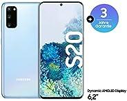 Samsung Galaxy S20 智能手机F-SMG981BLBAMZ Galaxy S20 5G Smartphone cloud blue