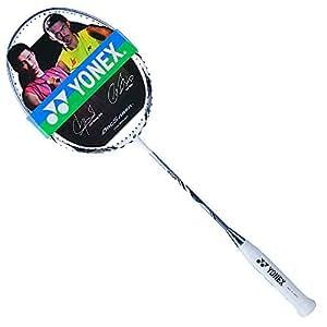 YONEX 尤尼克斯 中性 羽毛球拍单拍攻守兼备全碳素羽拍 NR-750-4U5 宝石蓝 4U5(亚马逊自营商品, 由供应商配送)