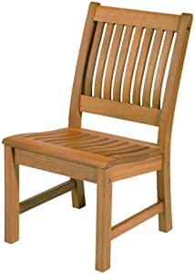 Arboria Patio 户外椅经典设计,符合人体工程学座椅高级桉树硬木