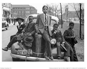Sunday's Best (Chicago Boys 1941) 艺术海报印刷品 (14x11) Plaqued - Black Trim Wood 550315-WMBK_1