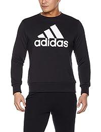 adidas 阿迪达斯 男式 运动型格 套头衫 ESS BIGLOG CREW